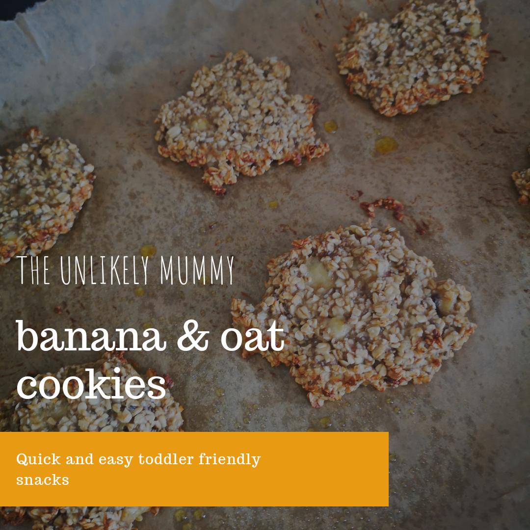 Banana and Oat Cookies