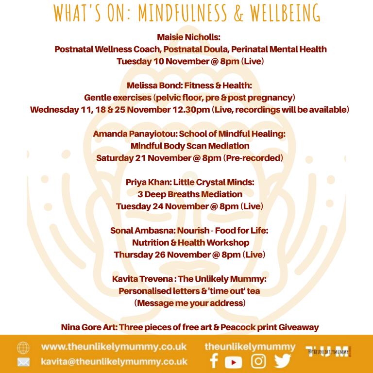 Mindfulness & Wellbeing
