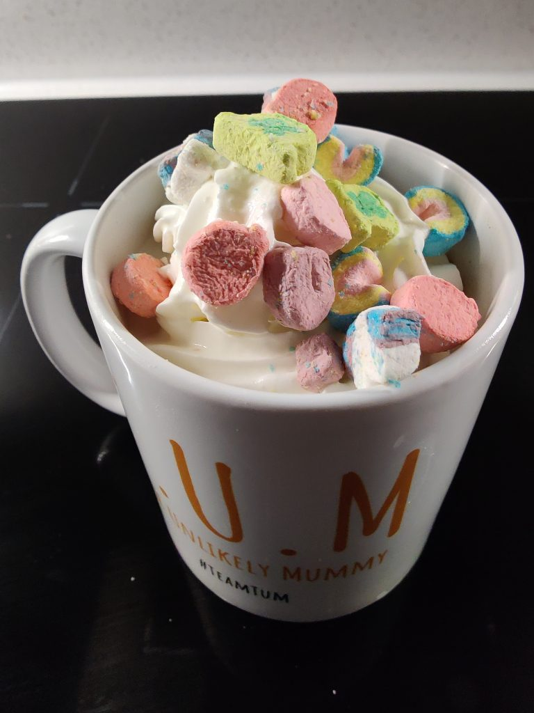 Help me, help mums by buying me a 'Hot Chocolate'