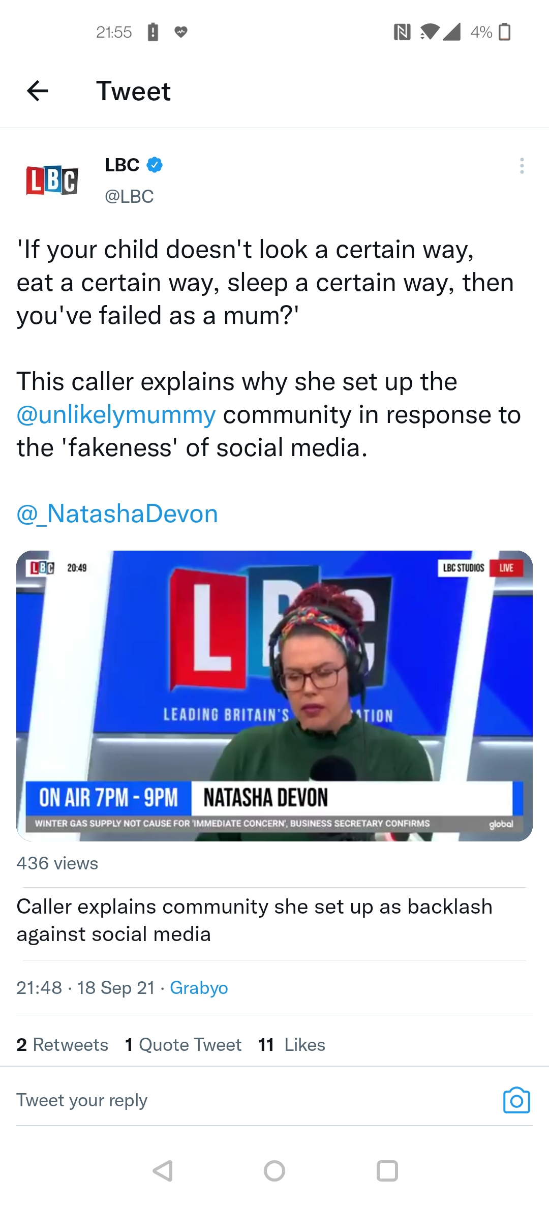 It's all about LBC, Mental Health and Social Media